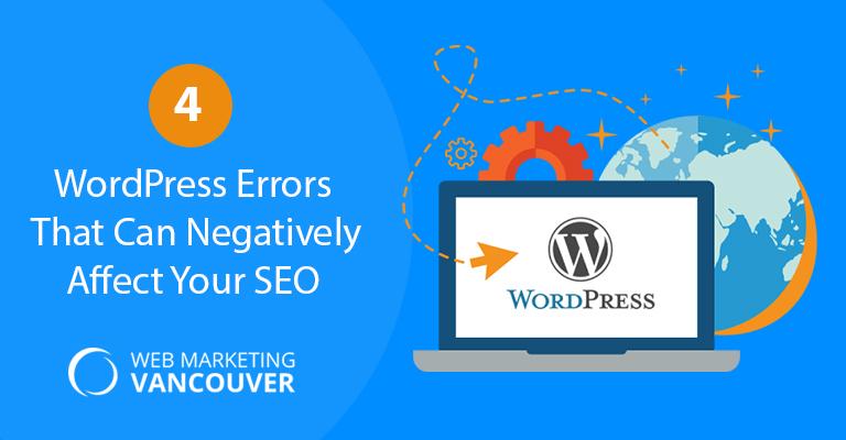 4 WordPress Errors